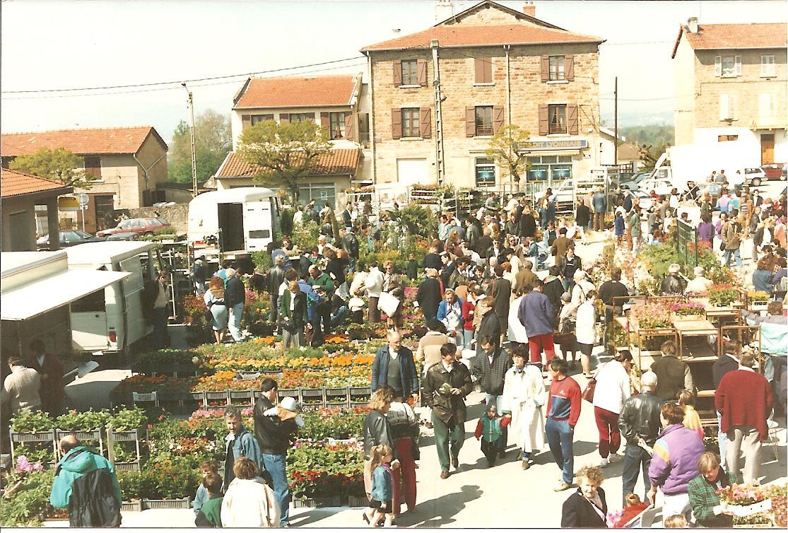 Marché aux fleurs 1989