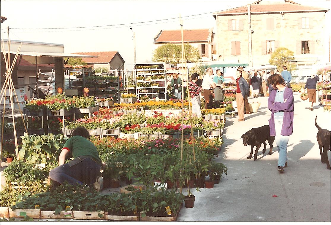 marché aux fleurs 1990
