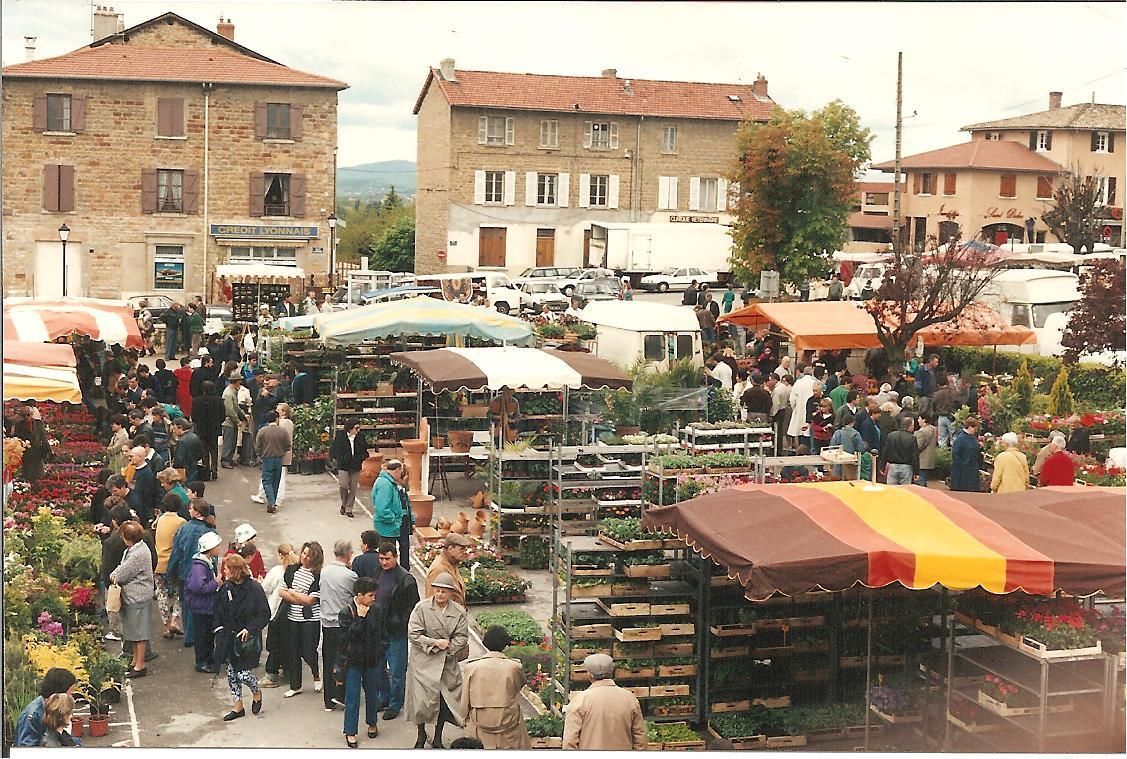 Marché aux fleurs 1991