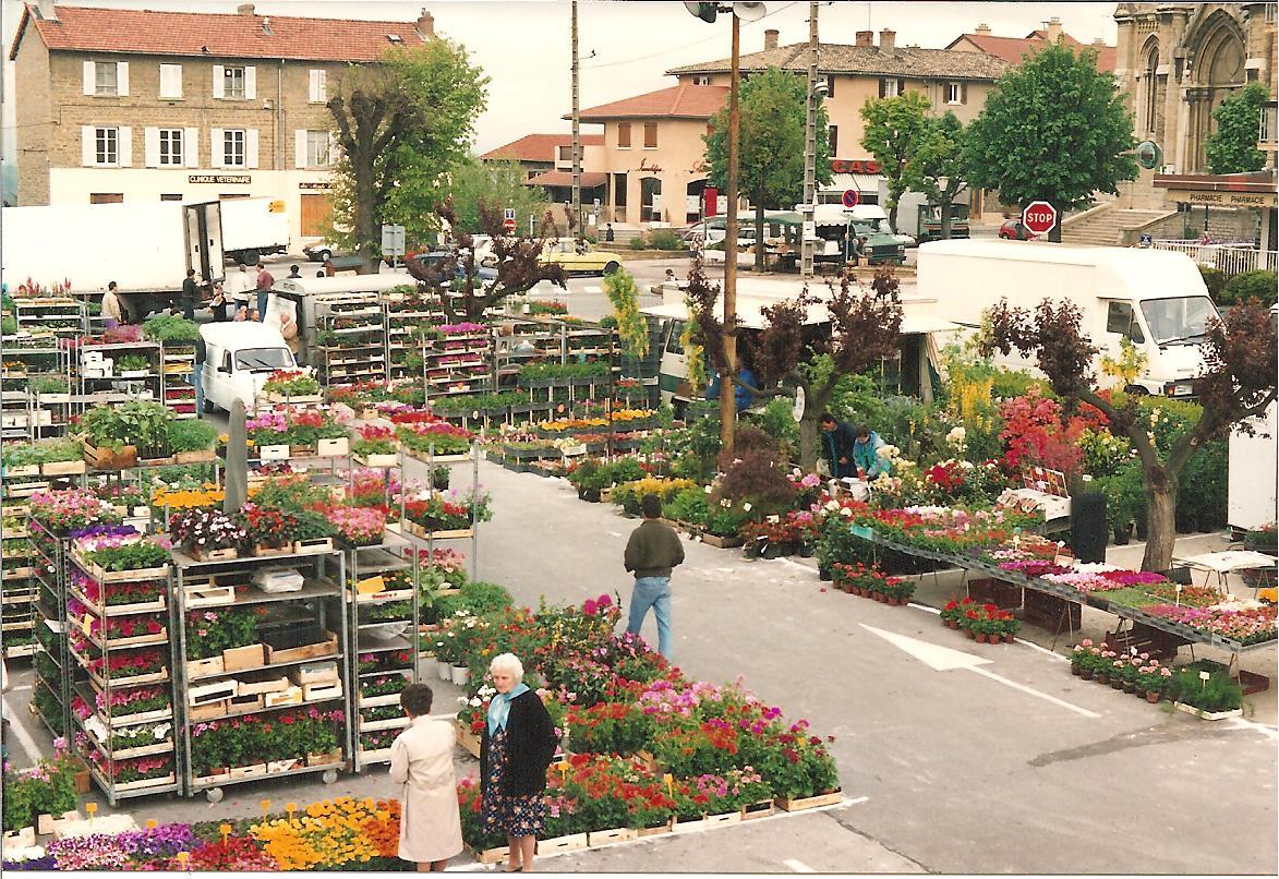 Marché aux fleurs 1992