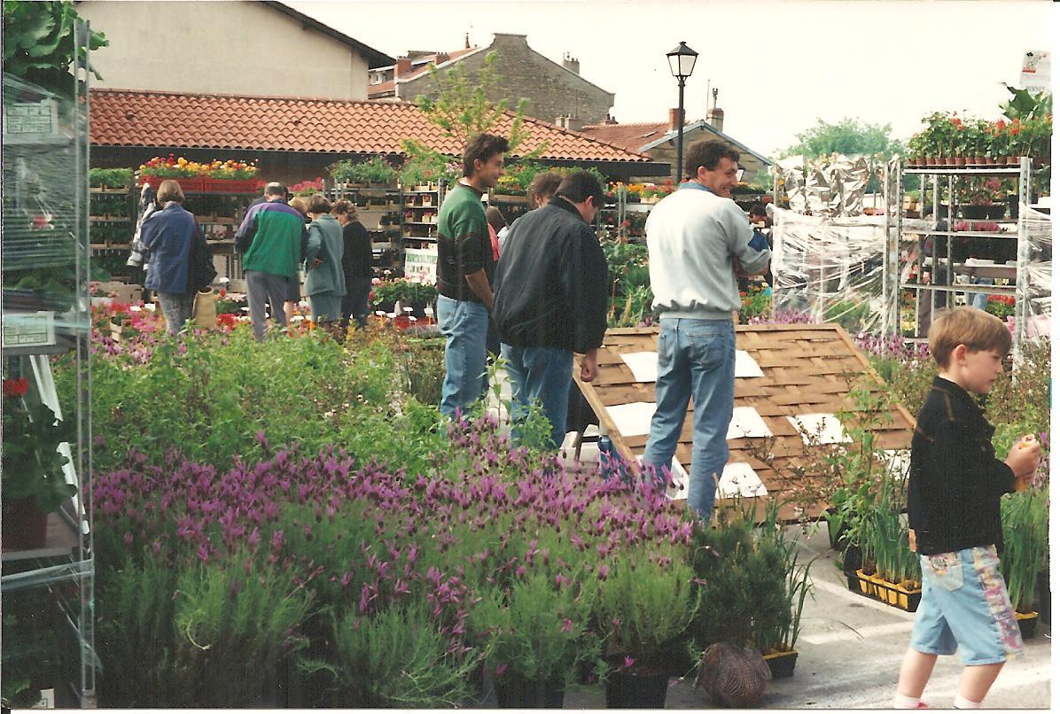 5 ans de marché aux fleurs